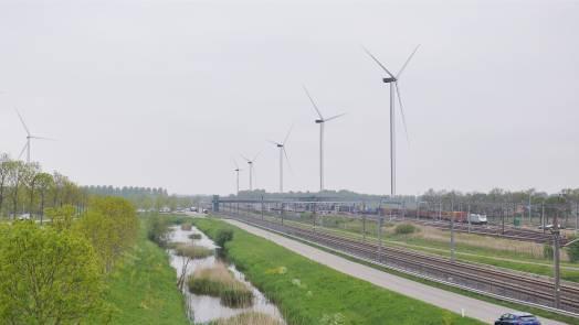 Vattenfall starts construction Wind farm Klaverspoor