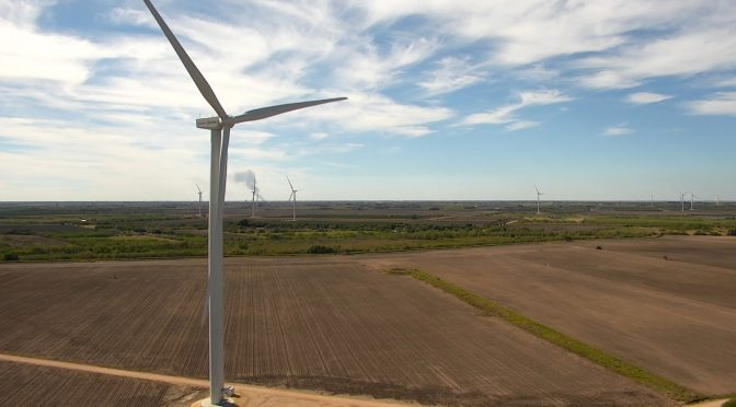 Acciona starts up its largest wind power plant in Texas