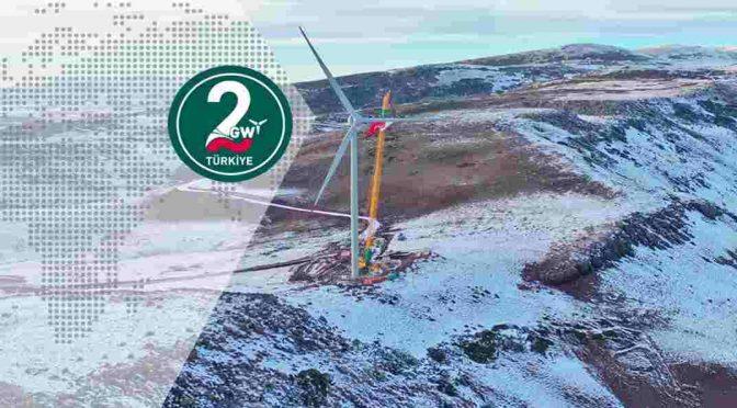 Enercon installs E-138 EP3 wind turbines for Metafor wind farm in Turkey