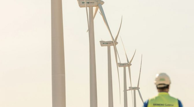 Siemens Gamesa signs 10-year service contract for largest Senvion wind energy projects in Latin America