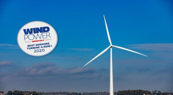 E-160 EP5 wins 'best wind turbine of the year' award