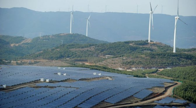 China's wind power generation capacity soars in Q1