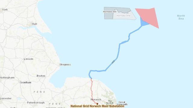 UK gives go-ahead to 2.4GW Hornsea-III offshore wind farm