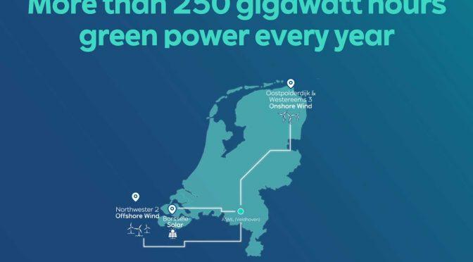 RWE supplies wind energy to ASML