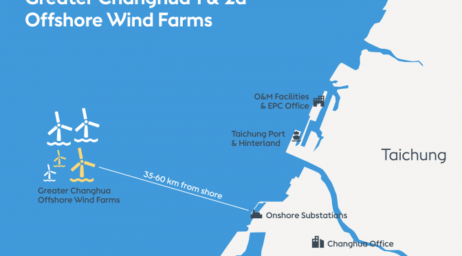 Ørsted kicks off offshore installation of Greater Changhua 1 & 2a Offshore Wind Farms