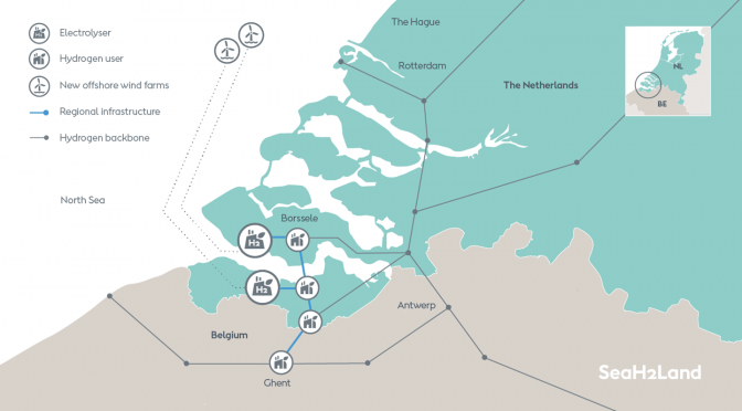 Ørsted to develop one of the world's largest renewable hydrogen plants to be linked to industrial demand in the Netherlands and Belgium