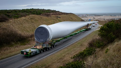 140 Wind turbines with a rotor diameter of 200 meters for Wind Farm Hollandse Kust Zuid