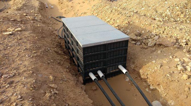HIDROSTANK pullboxes in the first wind farm in Saudi Arabia
