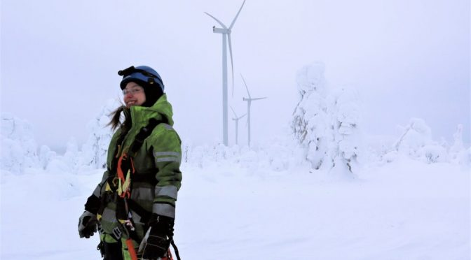 Meet the Team Nordex – Sanna Rissanen, Service Technician