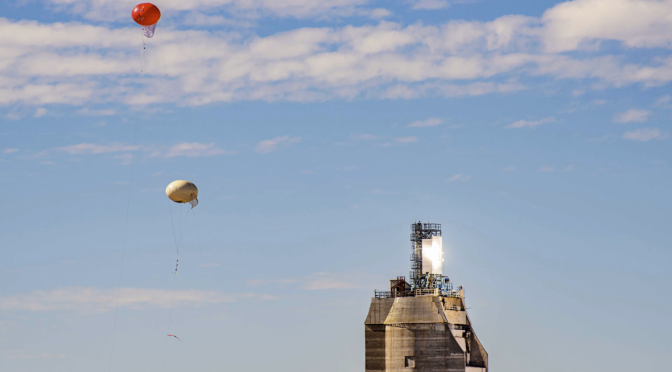 Balloons Test Environmental Safety of Advanced Solar Power Tower Tech
