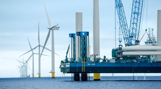 Giant offshore wind energy projects to be built in Ireland's seas