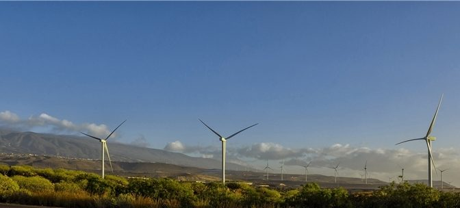 Iberdrola reinforces its commitment to renewable energy in the Canary Islands, with the Aulagas wind farm