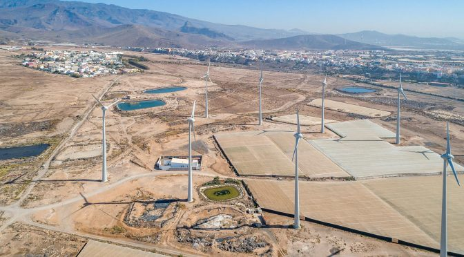 Ecoener continues to grow in wind power in the Canary Islands with the award of 31% of EOLCAN 2