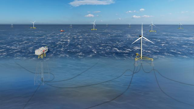South Korea's first floating wind farm project passes preliminary feasibility study