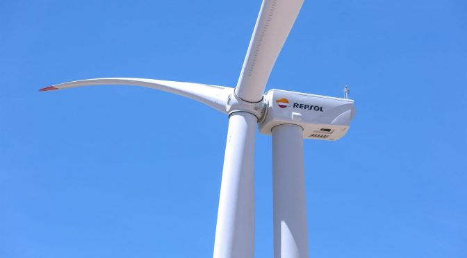 Repsol begins work on the 'Delta II' wind farm
