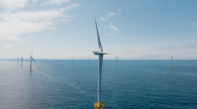 """First Wind Power Generation Celebration at Moray East """"Only the Start"""""""