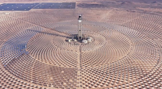 Cerro Dominador concentrated solar power plant inaugurated in Chile