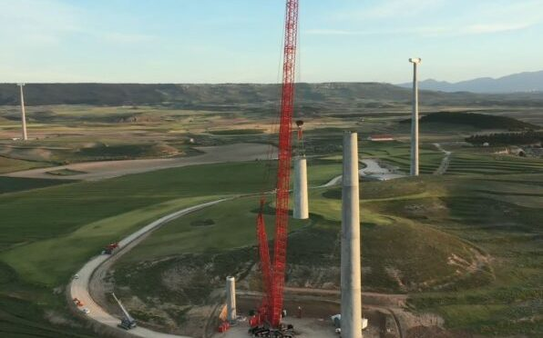 Nordex offers the N155 / 4.X concrete tower wind turbines for the US wind energy market