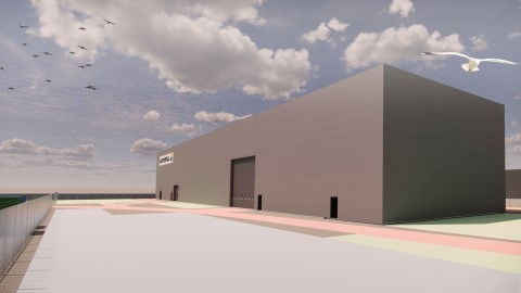 Vattenfall builds new European warehouse for wind turbines at the Danish Port of Esbjerg