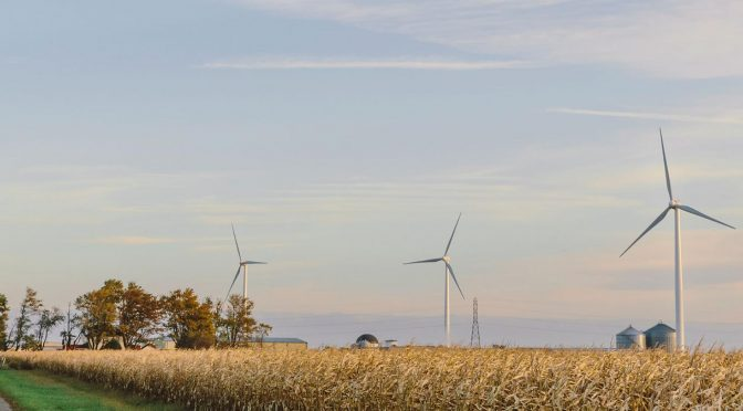 EDPR's 198 MW wind farm located in Indiana starts commercial operations