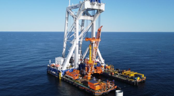 Iberdrola grants Van Oord the installation of the foundations for the Baltic Eagle wind farm