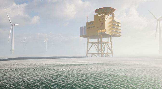 Study investigates potential for first large-scale offshore hydrogen park in the German North Sea