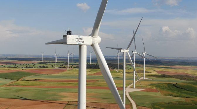 Capital Energy acquires more than half of the 3,300 MW of wind energy and solar power from the auction in Spain
