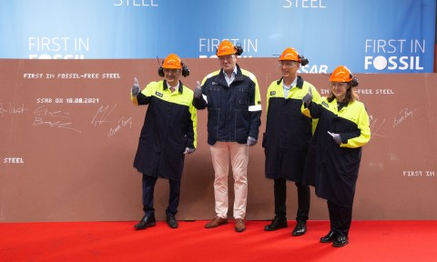 HYBRIT: The world's first fossil-free steel ready for delivery