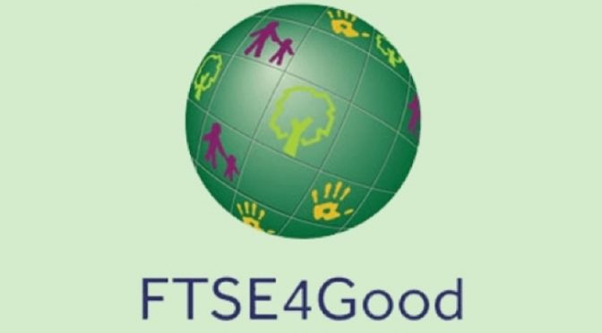 Iberdrola, ranked on the FTSE4Good index since 2009