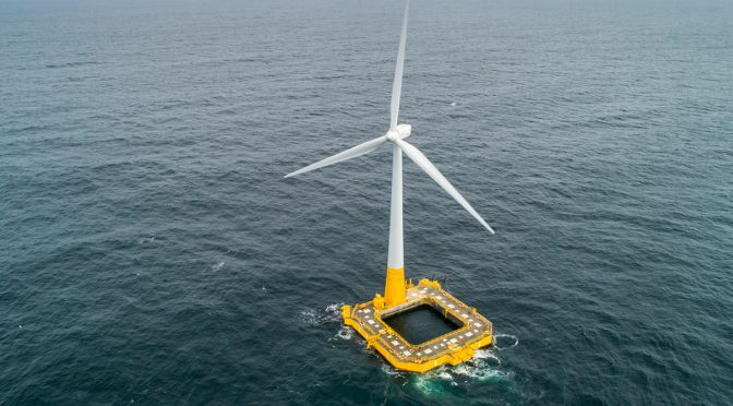 ACS completes the largest floating wind farm