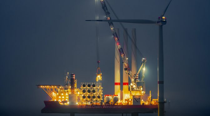 Offshore wind energy continues to break new boundaries