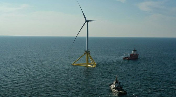 RWE, NTE and Havfram: joint participation in floating offshore wind power project in Norway