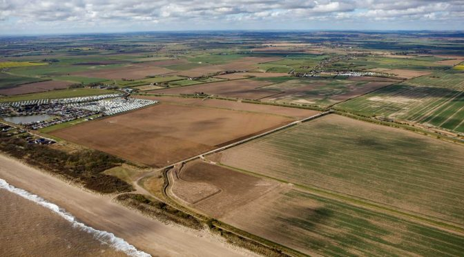 RWE successfully completes onshore construction works for Triton Knoll Offshore Wind Farm