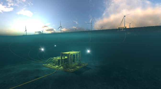 Aker Offshore Wind unveils underwater innovation for floating offshore wind energy in Scotland