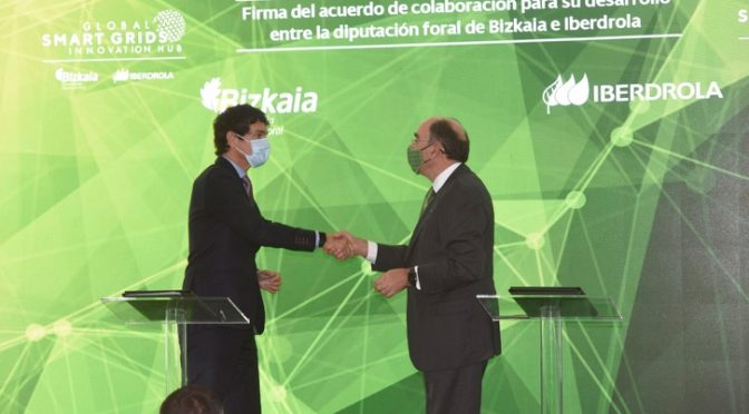 Iberdrola and the Provincial Council of Bizkaia launch a global technology centre that will define the electricity grids of the future