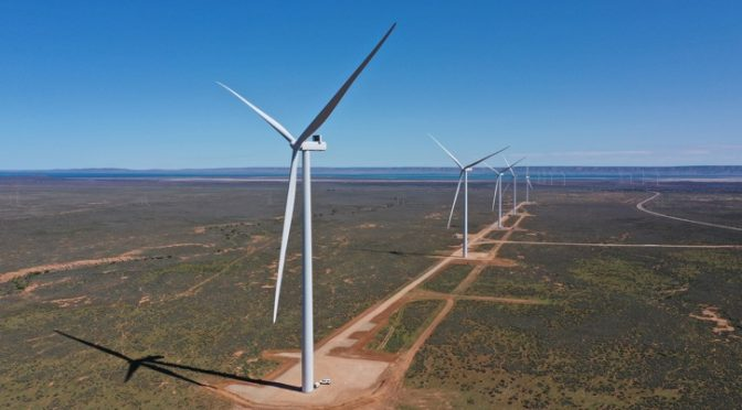 Iberdrola will supply wind energy to the BHP Olympic Dam mine project in South Australia