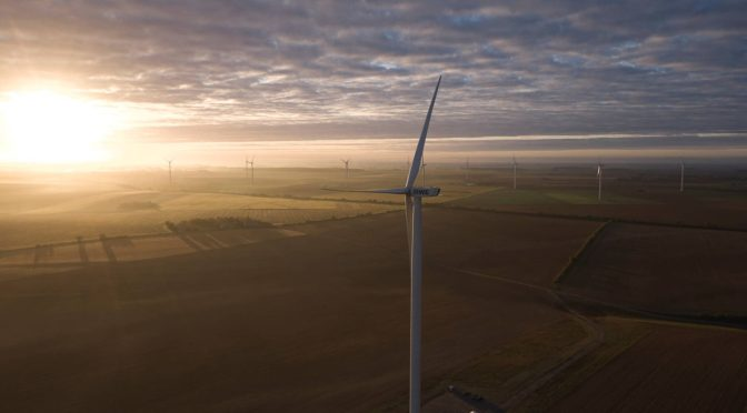 RWE commissions its first onshore wind farm in France